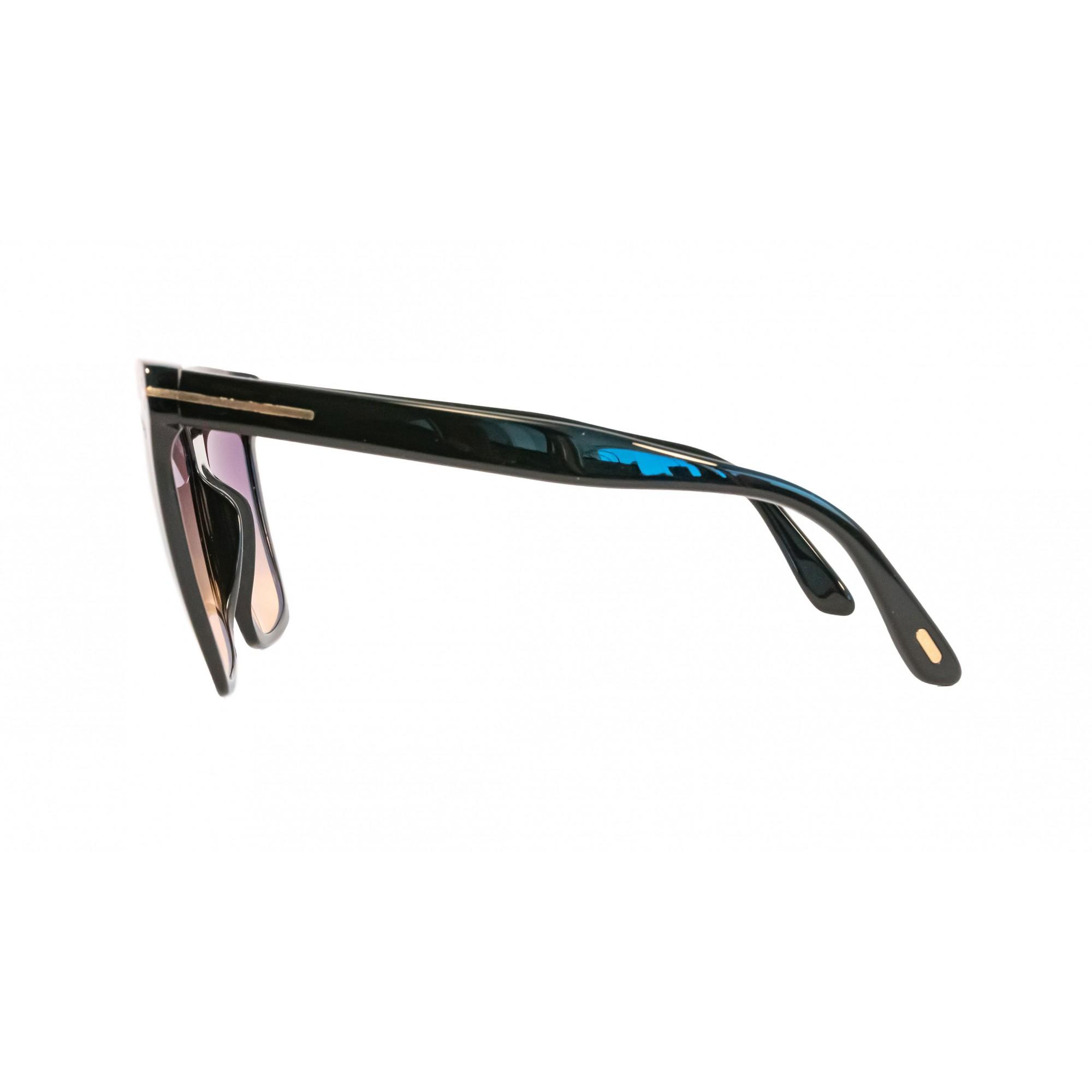 Óculos Tom Ford Quadrado Tf0764 01b 58 Preto