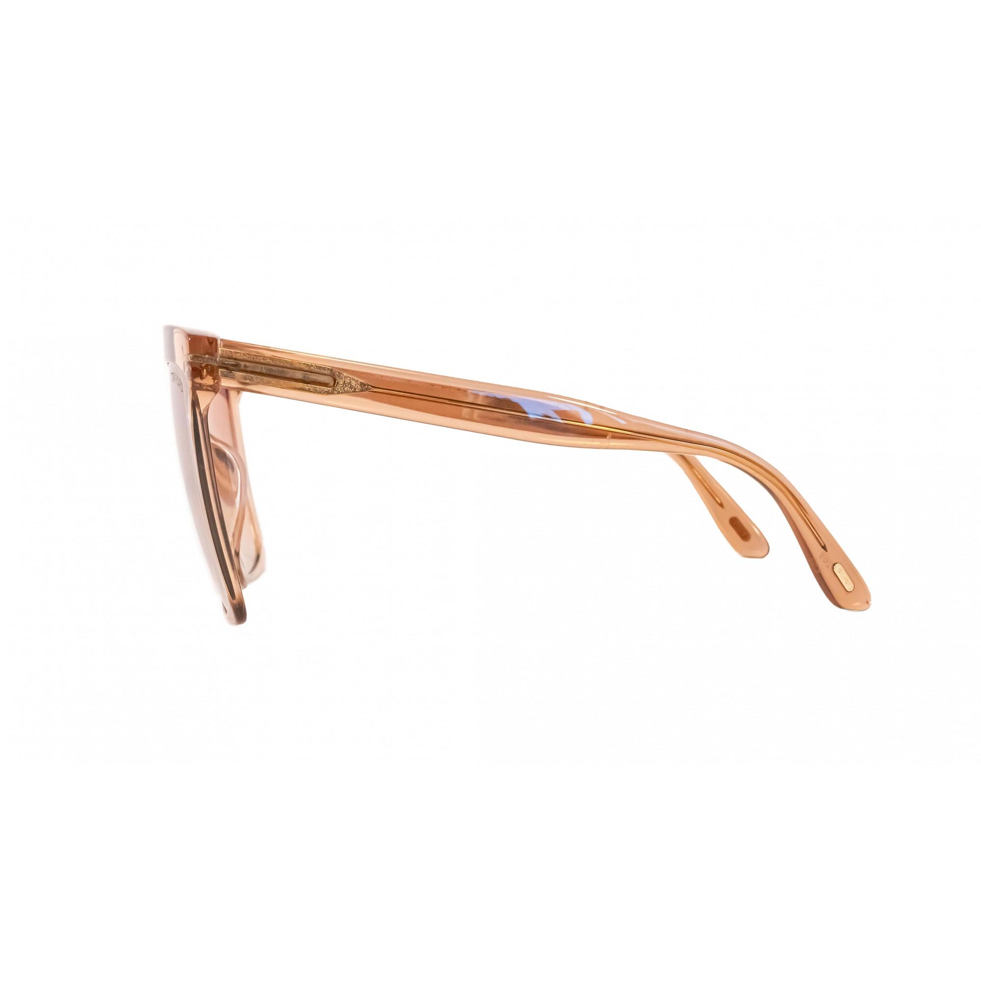 Óculos Tom Ford Quadrado Tf0764 57g 58 Transparente