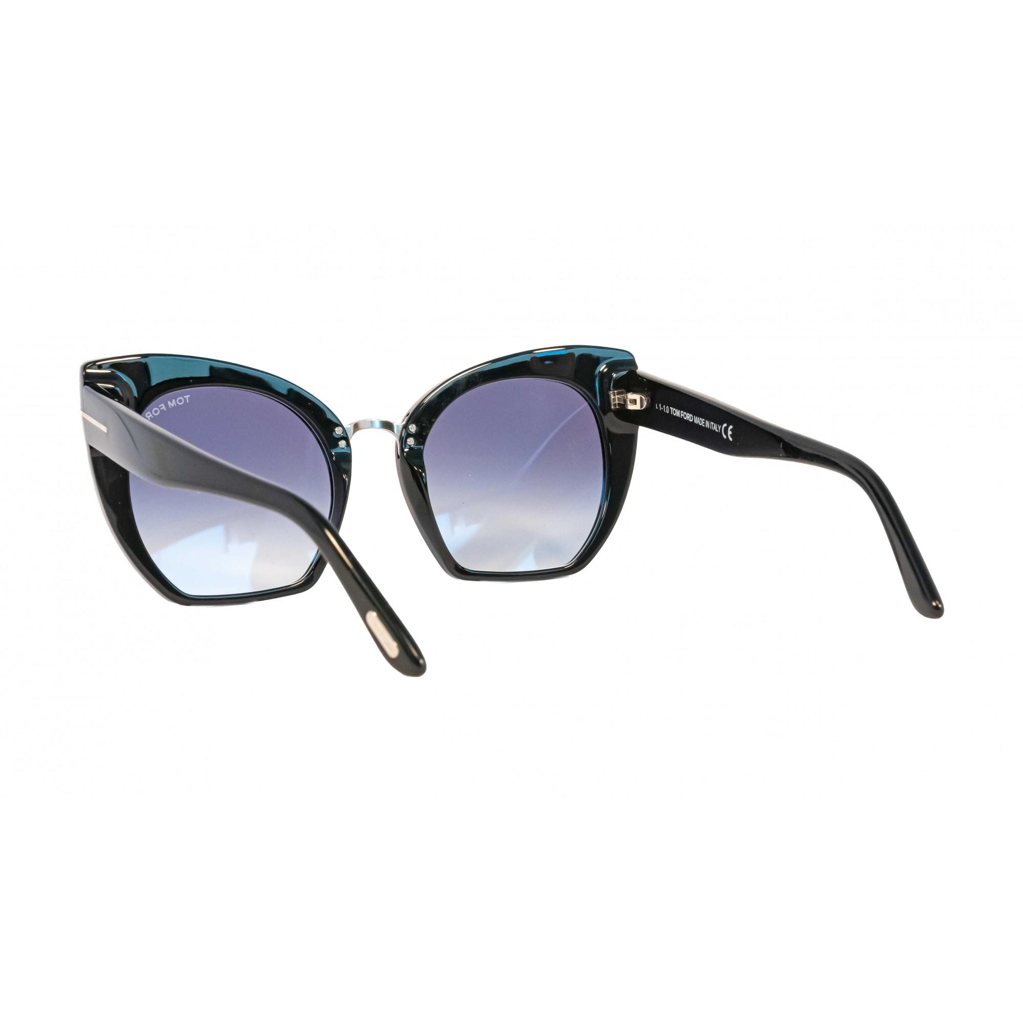 Óculos Tom Ford Samantha Tf0553 01w 55 Preto