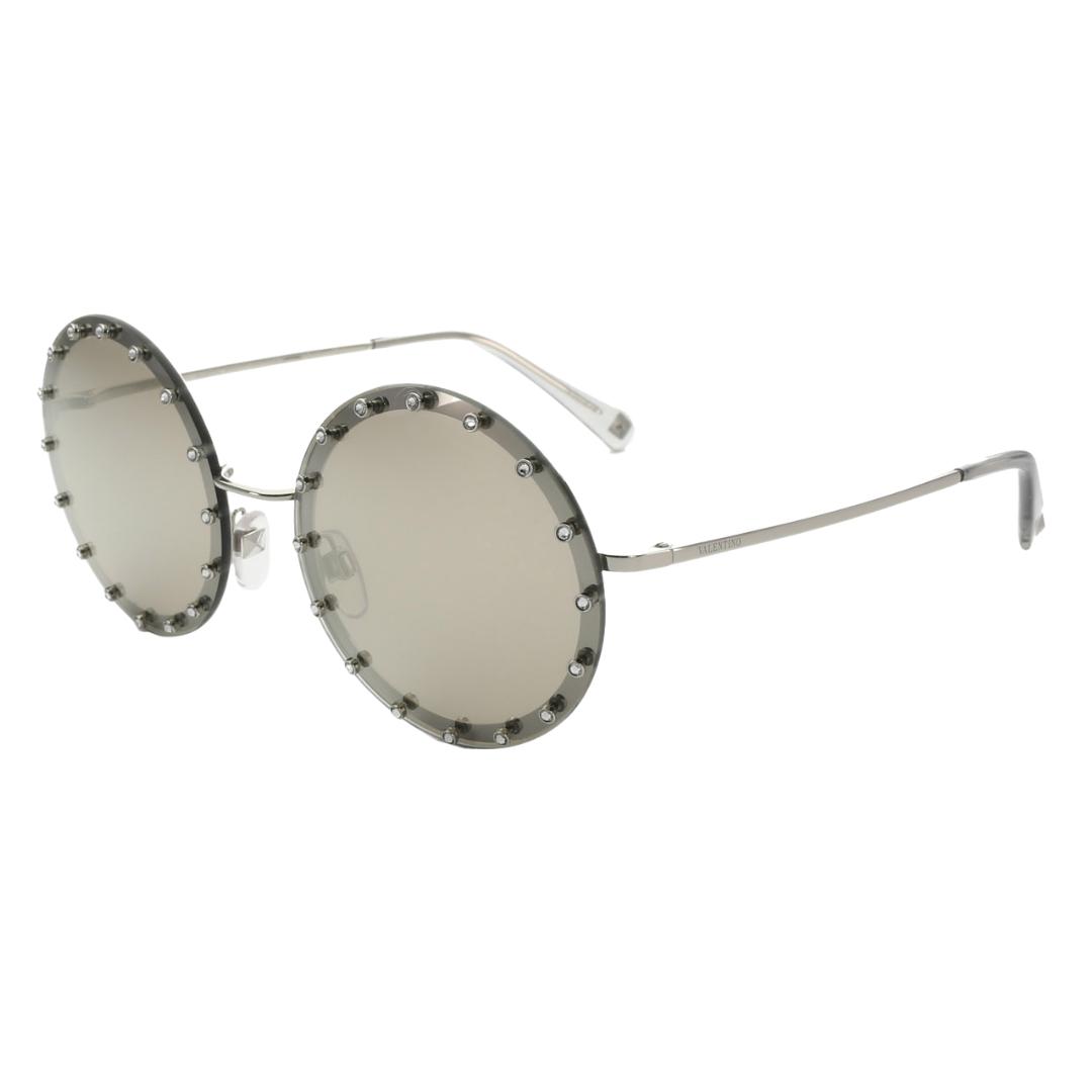 Óculos Valentino Redondo VA2010B 3057T7 58 Prateado