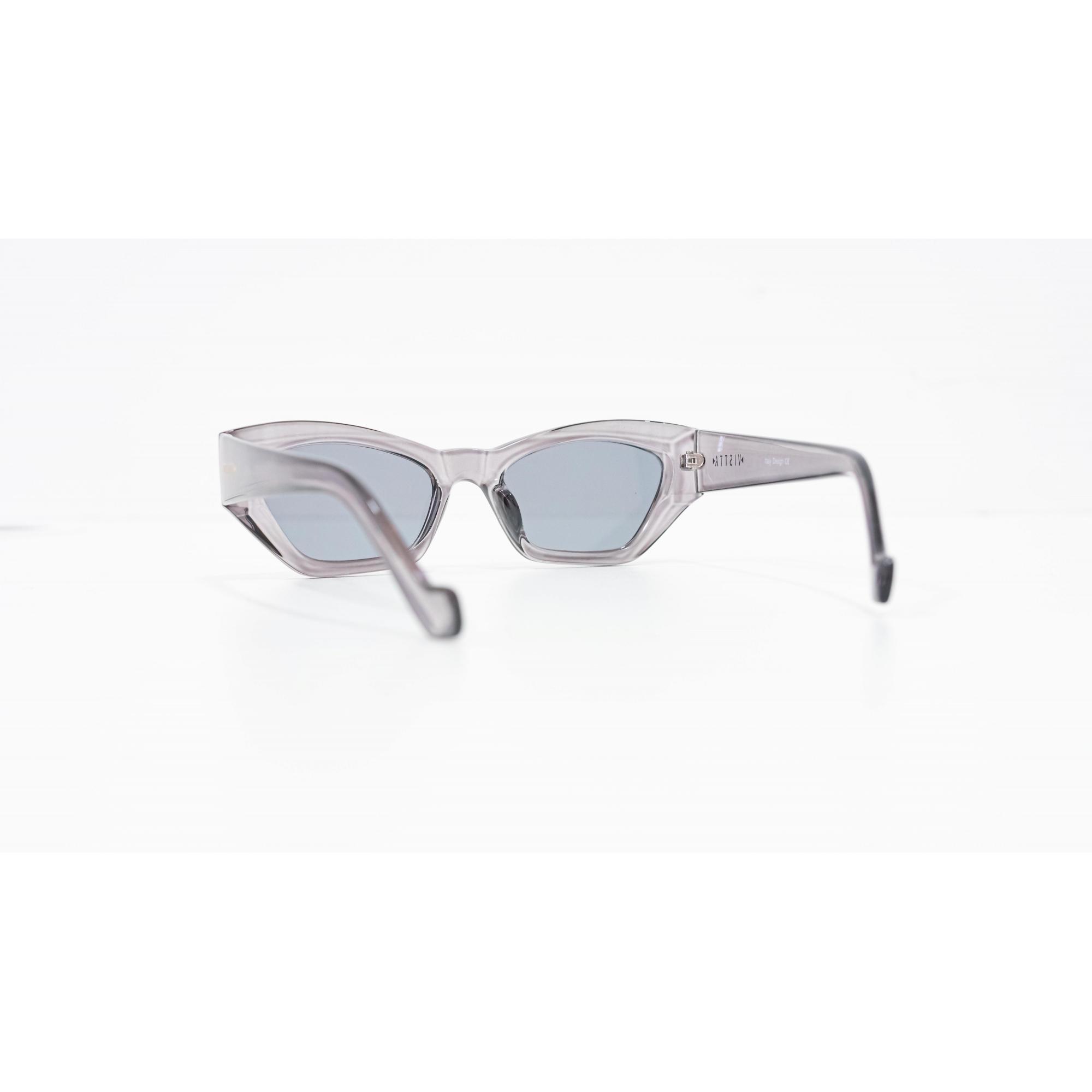 Óculos Vistta Aping Irregular LQ9006 C5 45 Cinza