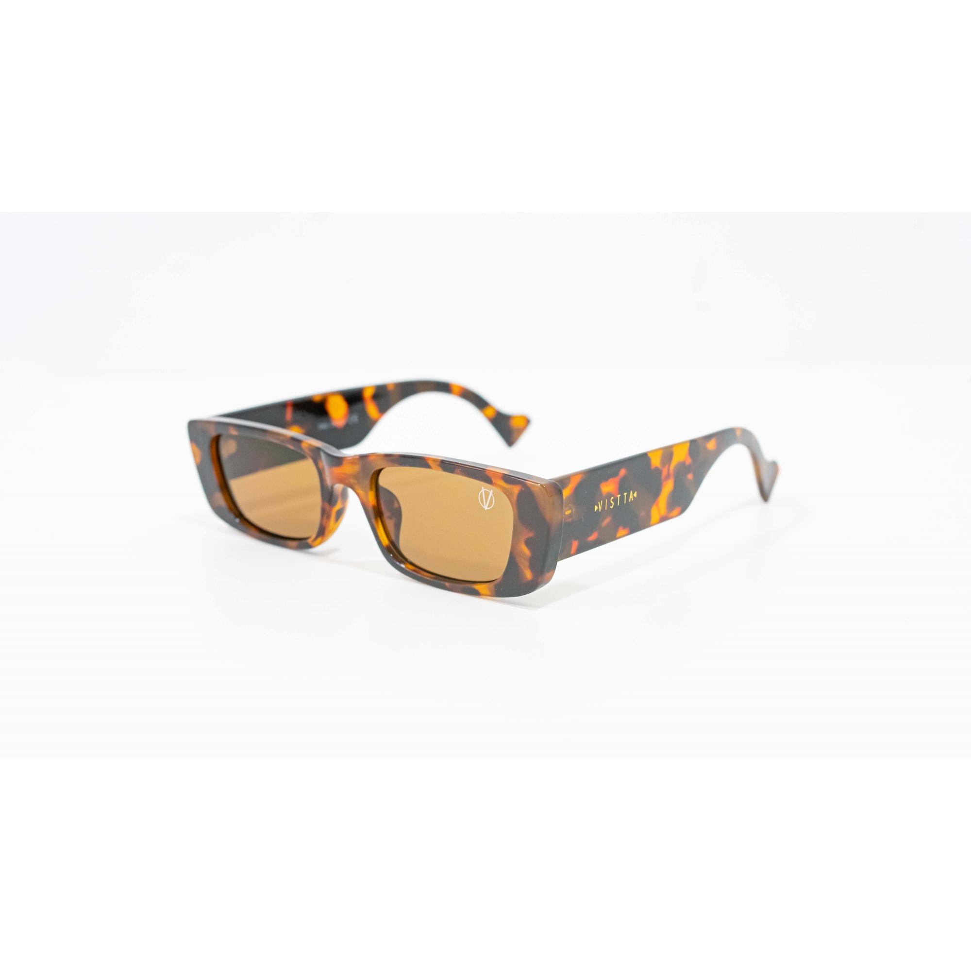 Óculos Vistta Aping Retangular LQ9002 C3 52 Tartaruga