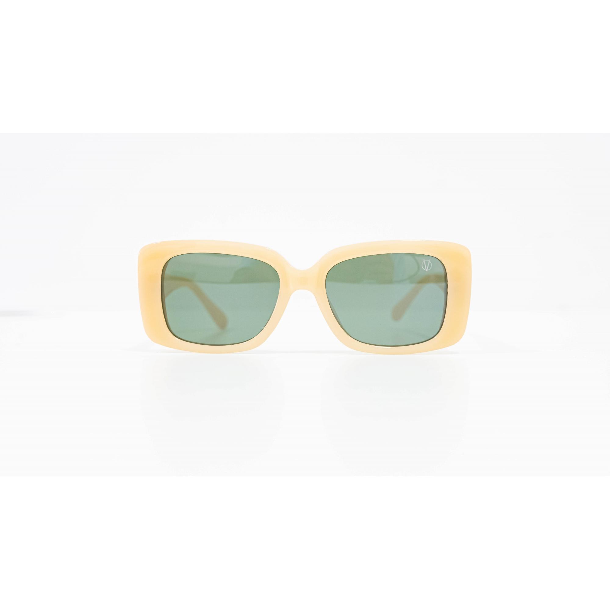 Óculos Vistta Aping Retangular LQ9004 C7 52 Bege