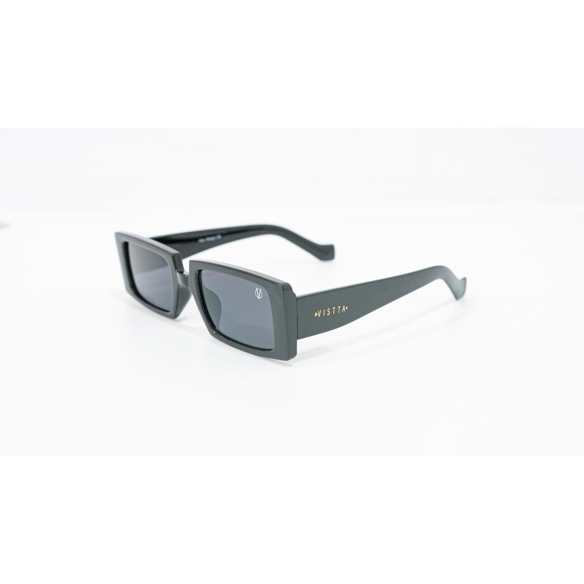 Óculos Vistta Aping Retangular LQ9007 C1 60 Preto