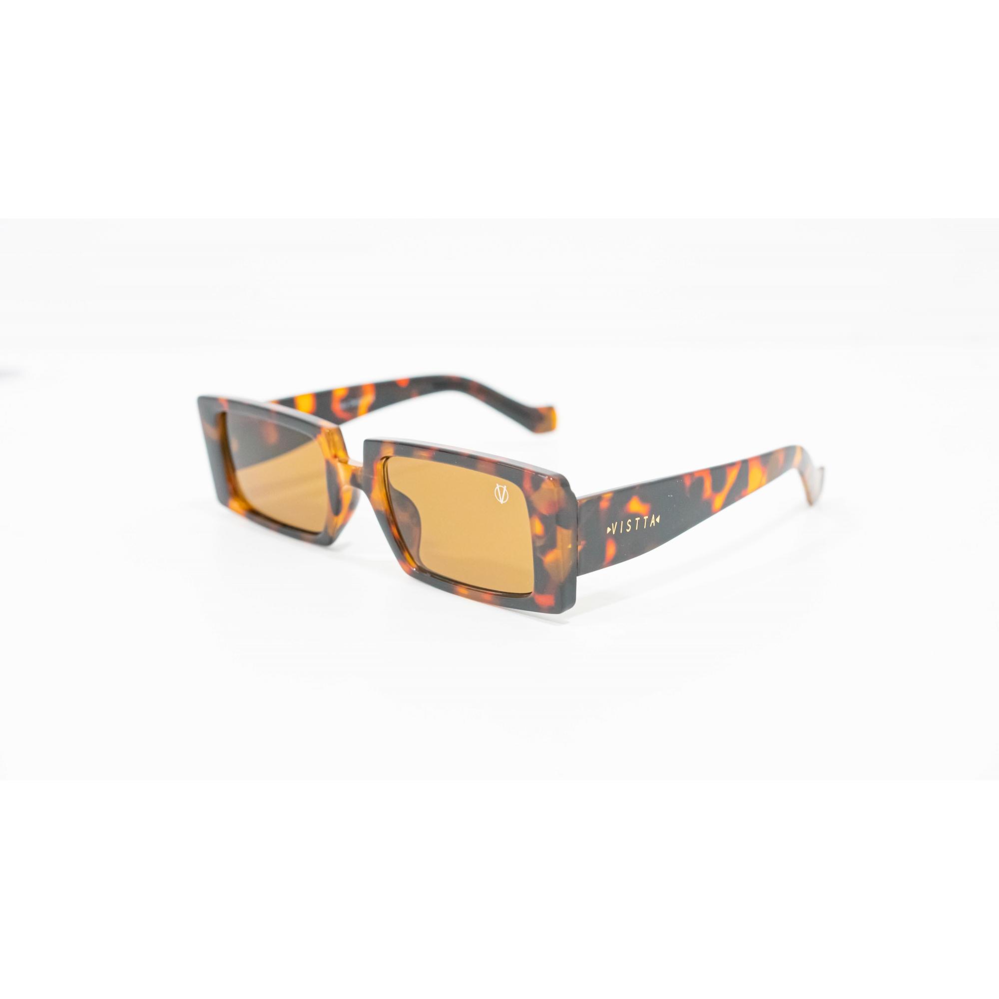 Óculos Vistta Aping Retangular LQ9007 C3 60 Tartaruga