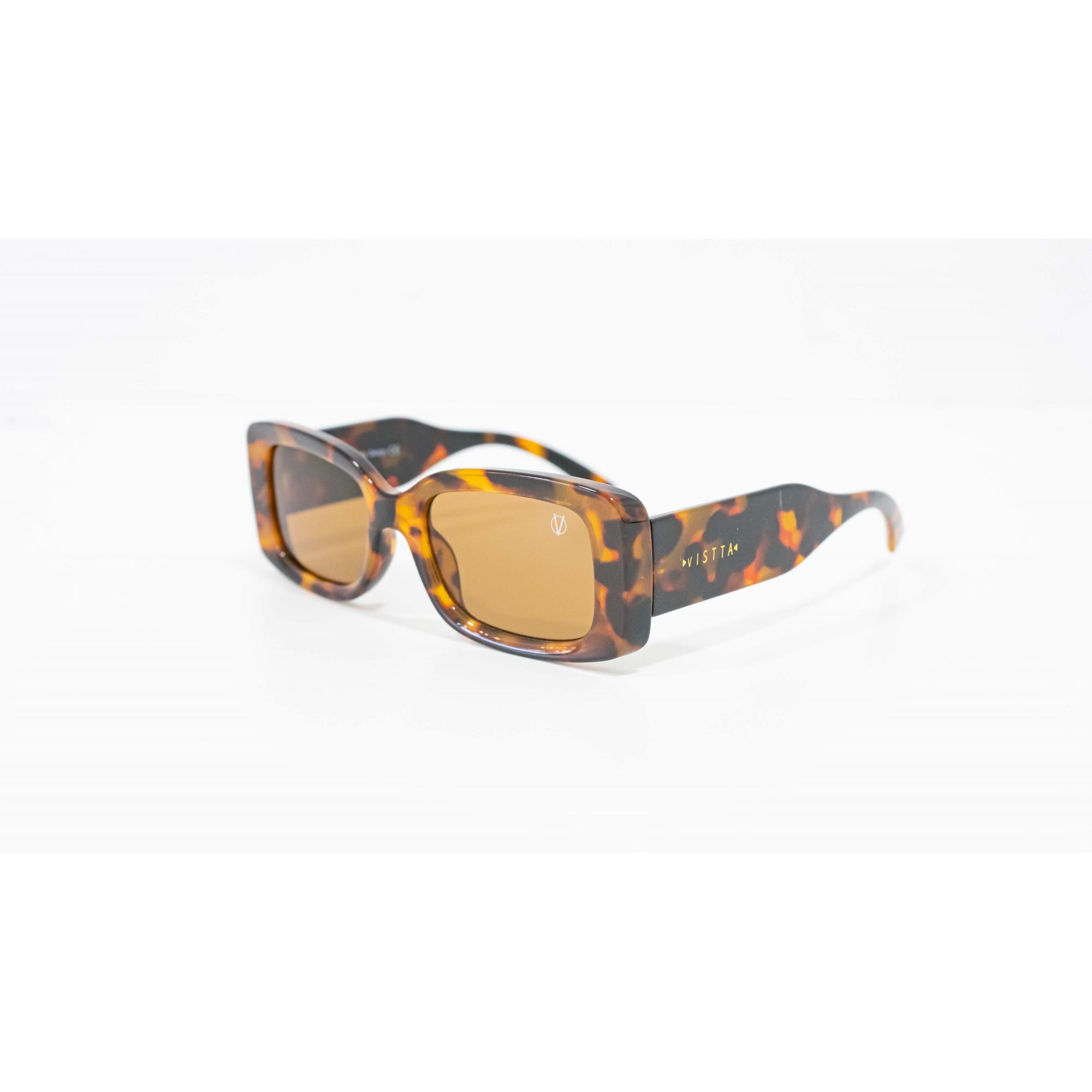 Óculos Vistta Aping Retangular LQ9008 C3 50 Tartaruga