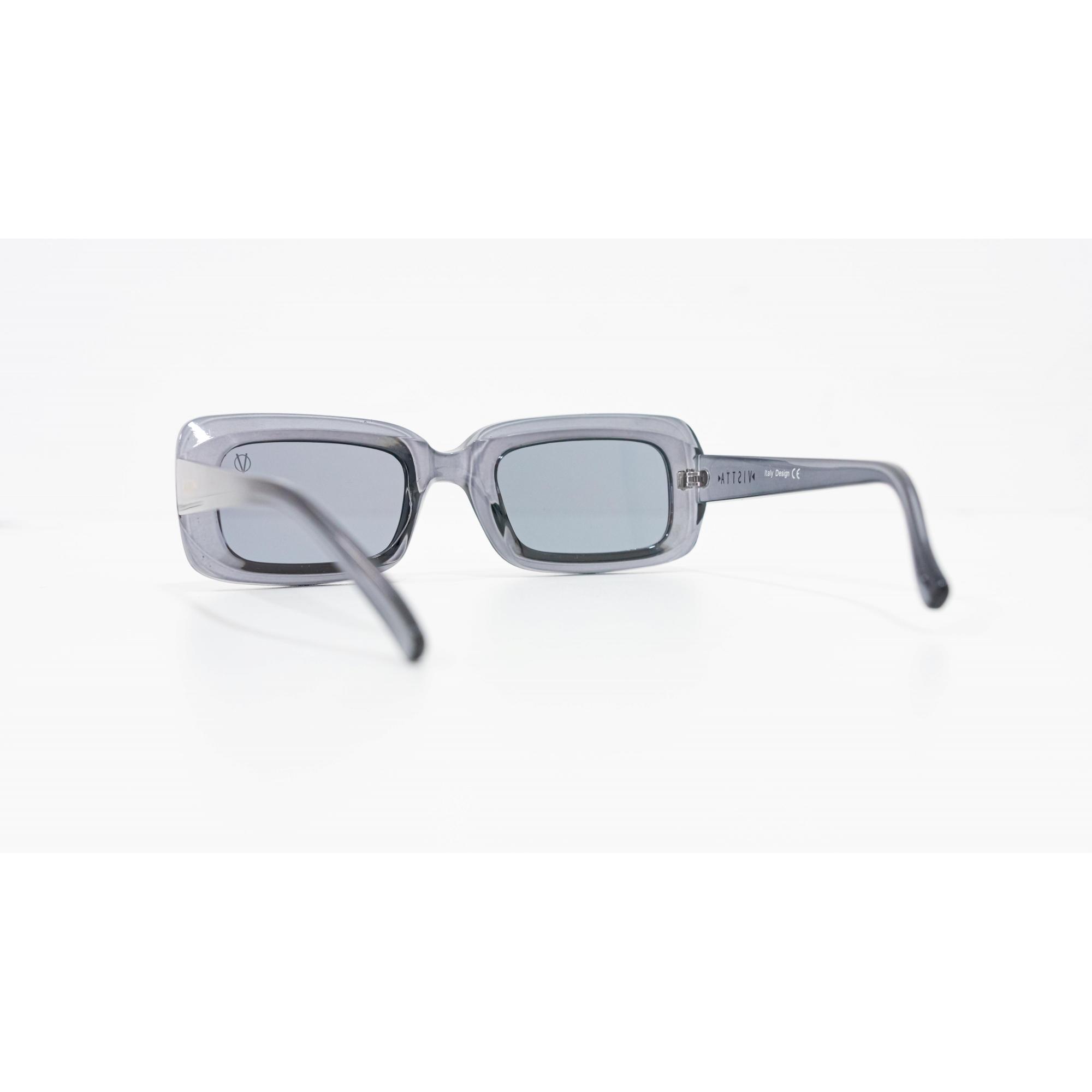 Óculos Vistta Aping Retangular LQ9010 C5 50 Cinza