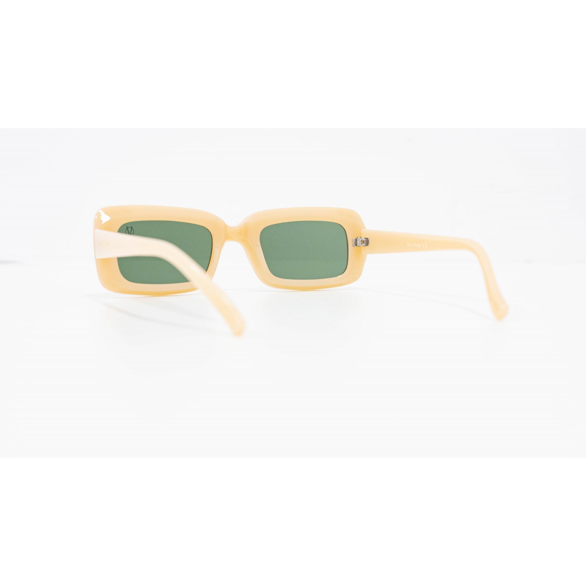 Óculos Vistta Aping Retangular LQ9010 C7 50 Bege