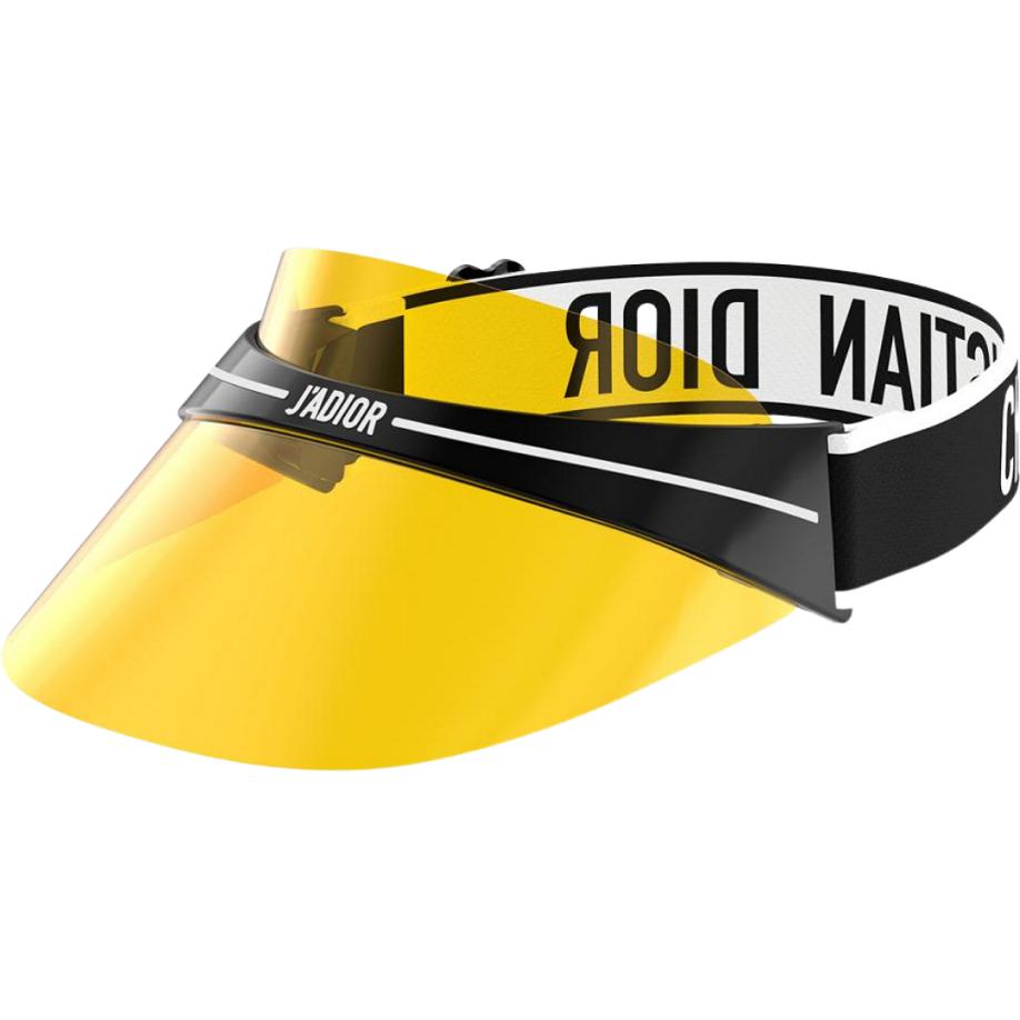 Viseira Dior Club1 OTL04 TU Amarelo