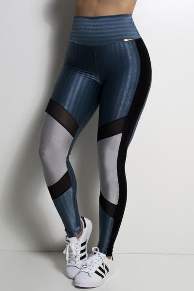 Calça Legging Fitness Zap com Recorte