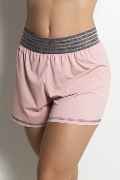 Short Fitness  Cintura com Elástico