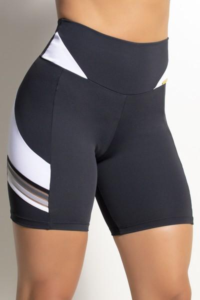 Short Fitness Fitmax Elástico Degrade