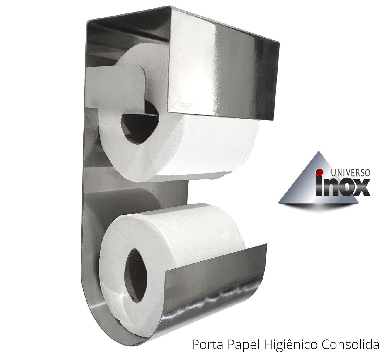 Porta Papel Higiênico Consolida - Liso