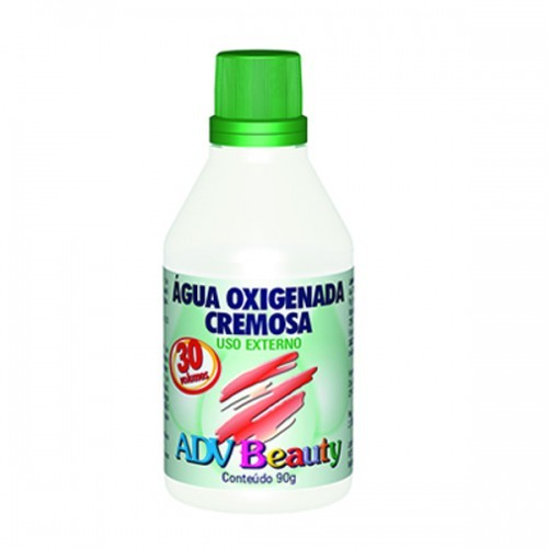 AGUA OXIGENADA CREMOSA 30VOL  90ML ADV