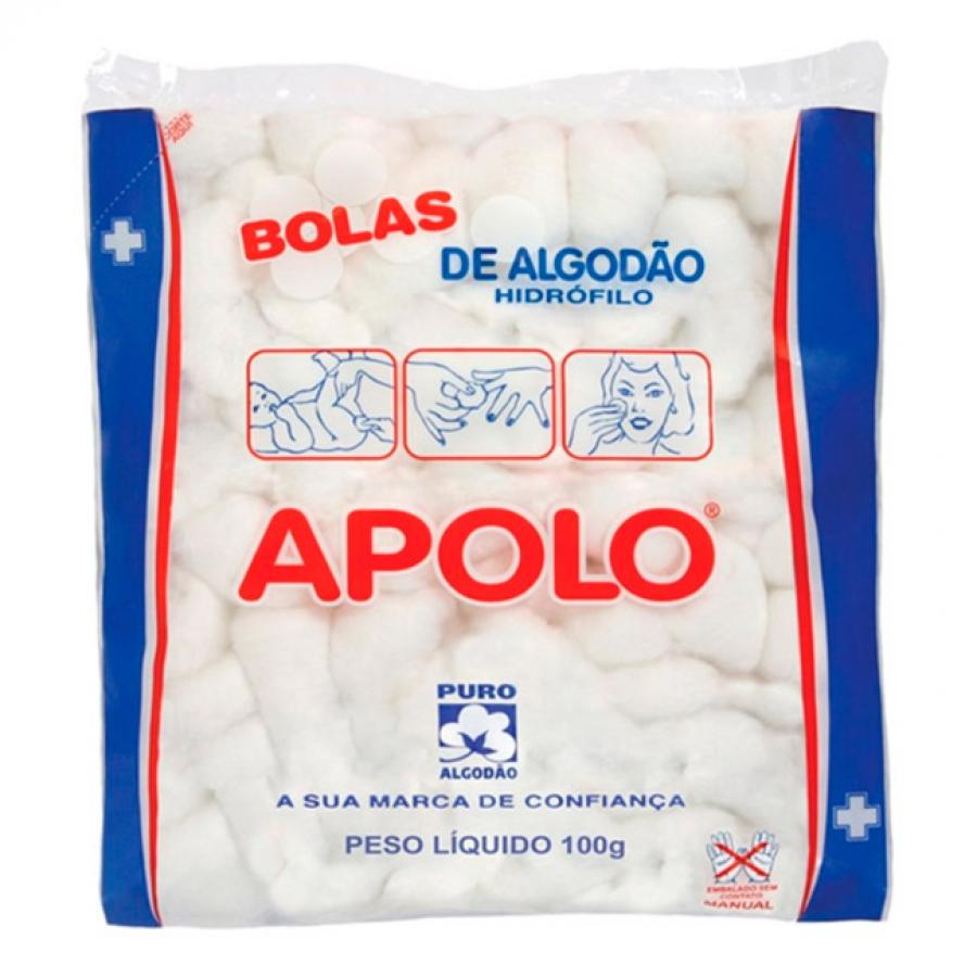 ALGODAO APOLO 100G BOLAS