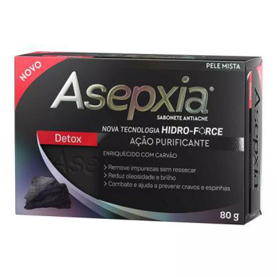 ASEPXIA SABONETE DETOX 80G