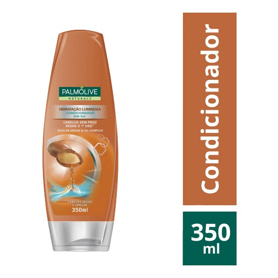 CONDICIONADOR PALM 350ML OLEO ARGAN