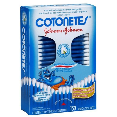 COTONETES JOHNSON C/150 UNIDADES