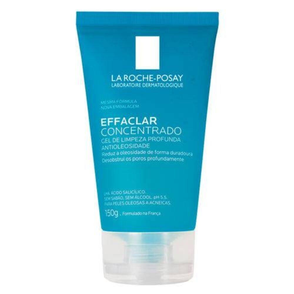 Gel de Limpeza Facial La Roche Posay 150g - Effaclar Concentrado