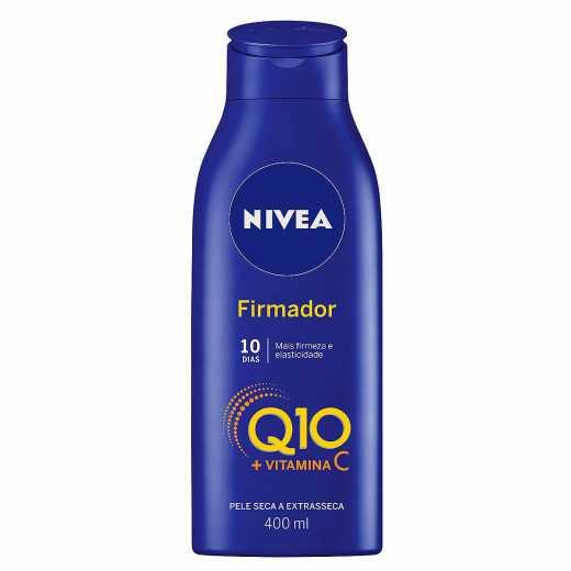 HIDRATANTE NÍVEA FIRMADOR Q10 + VITAMINA C PELE SECA 400ML