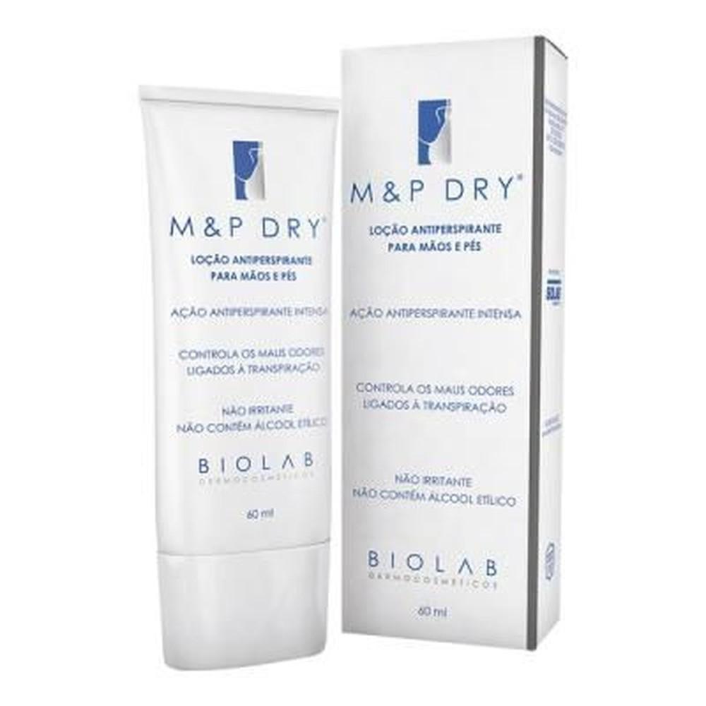 M&p Dry Antiperspirante Sem Álcool Etílico 60ml