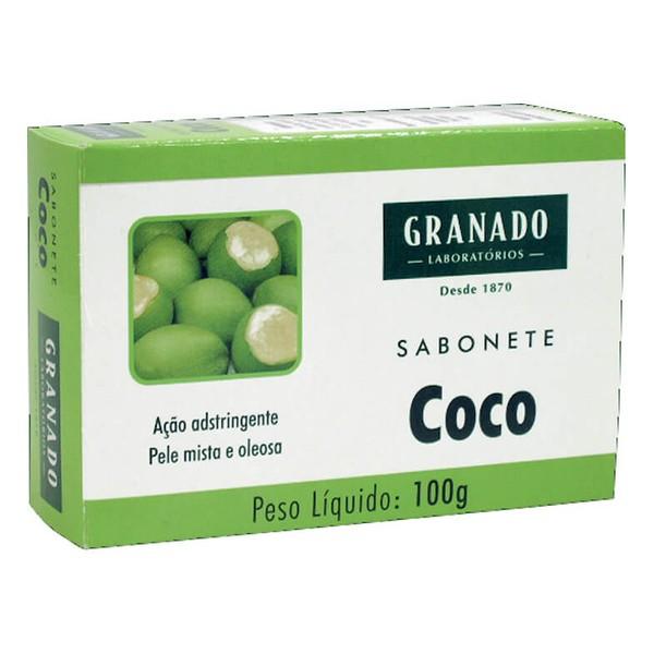 SABONETE GRANADO 100G COCO        *