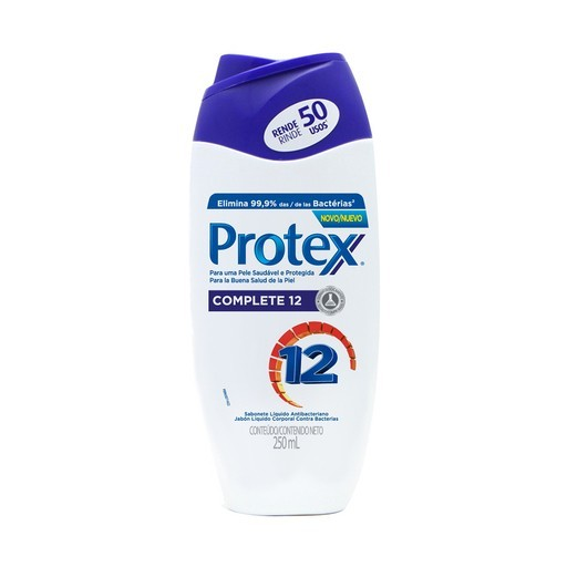 SABONETE PROTEX 250ML COMPLETE 12