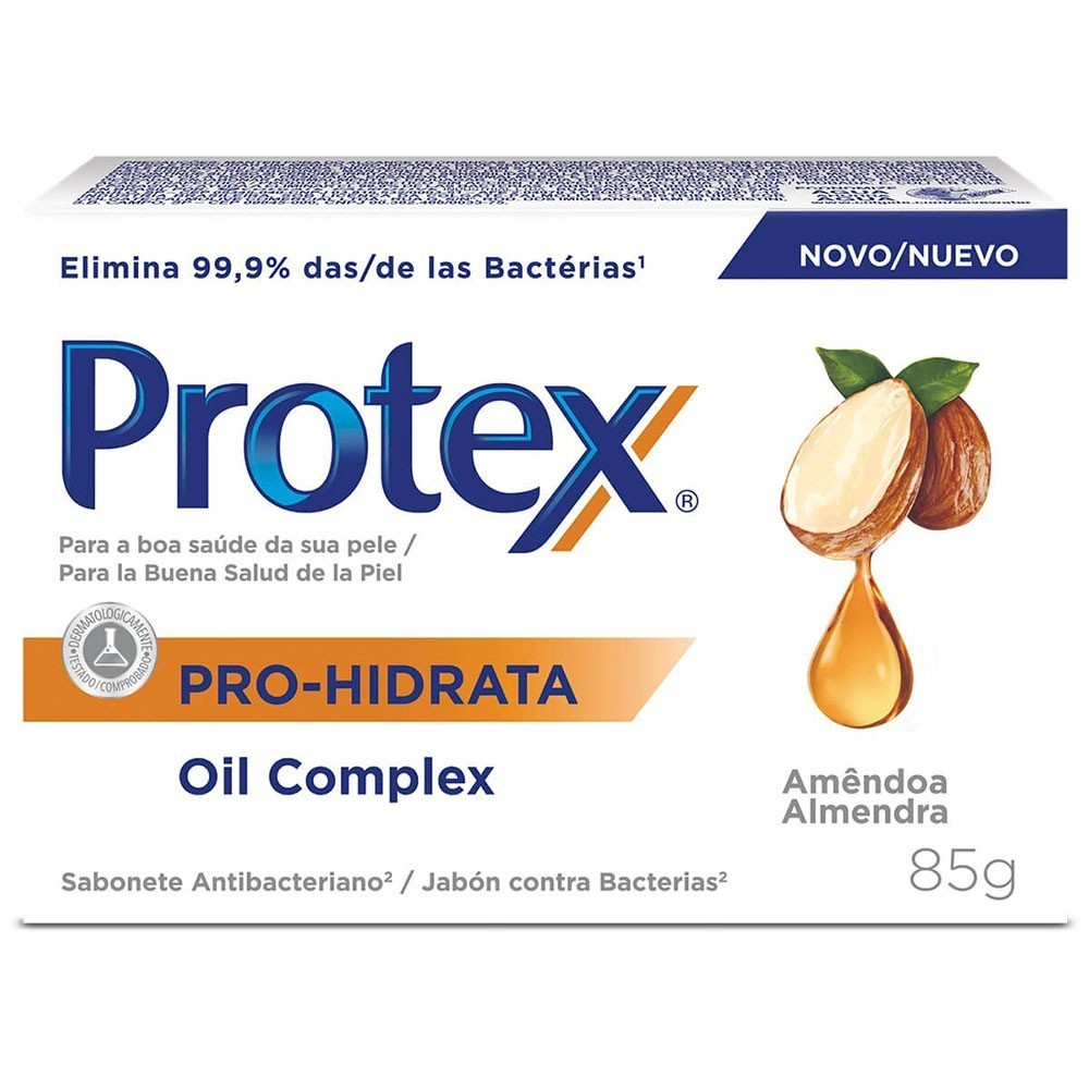 SABONETE PROTEX 85G HIDRATANTE AMENDOA