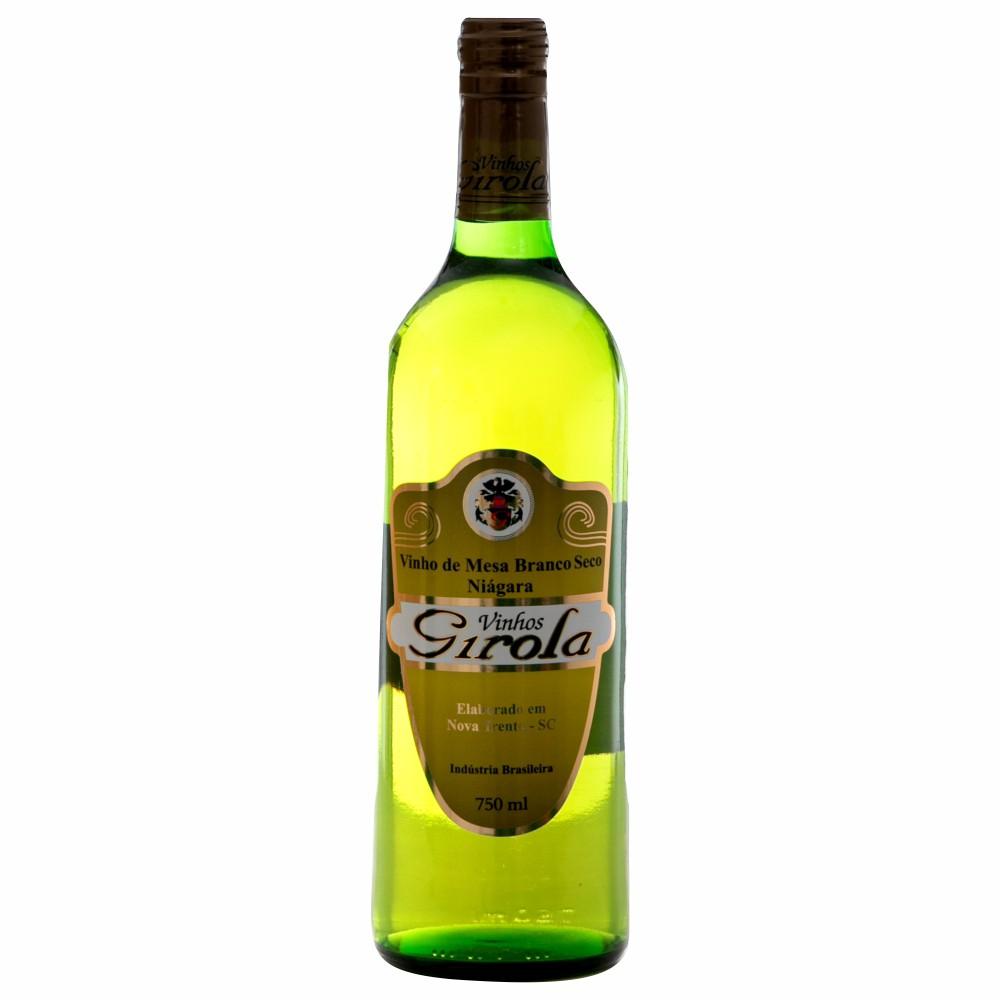 Vinho de Mesa Branco Seco Niágara 750ml