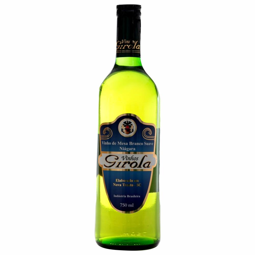 Vinho de Mesa Branco Suave Niágara 750ml