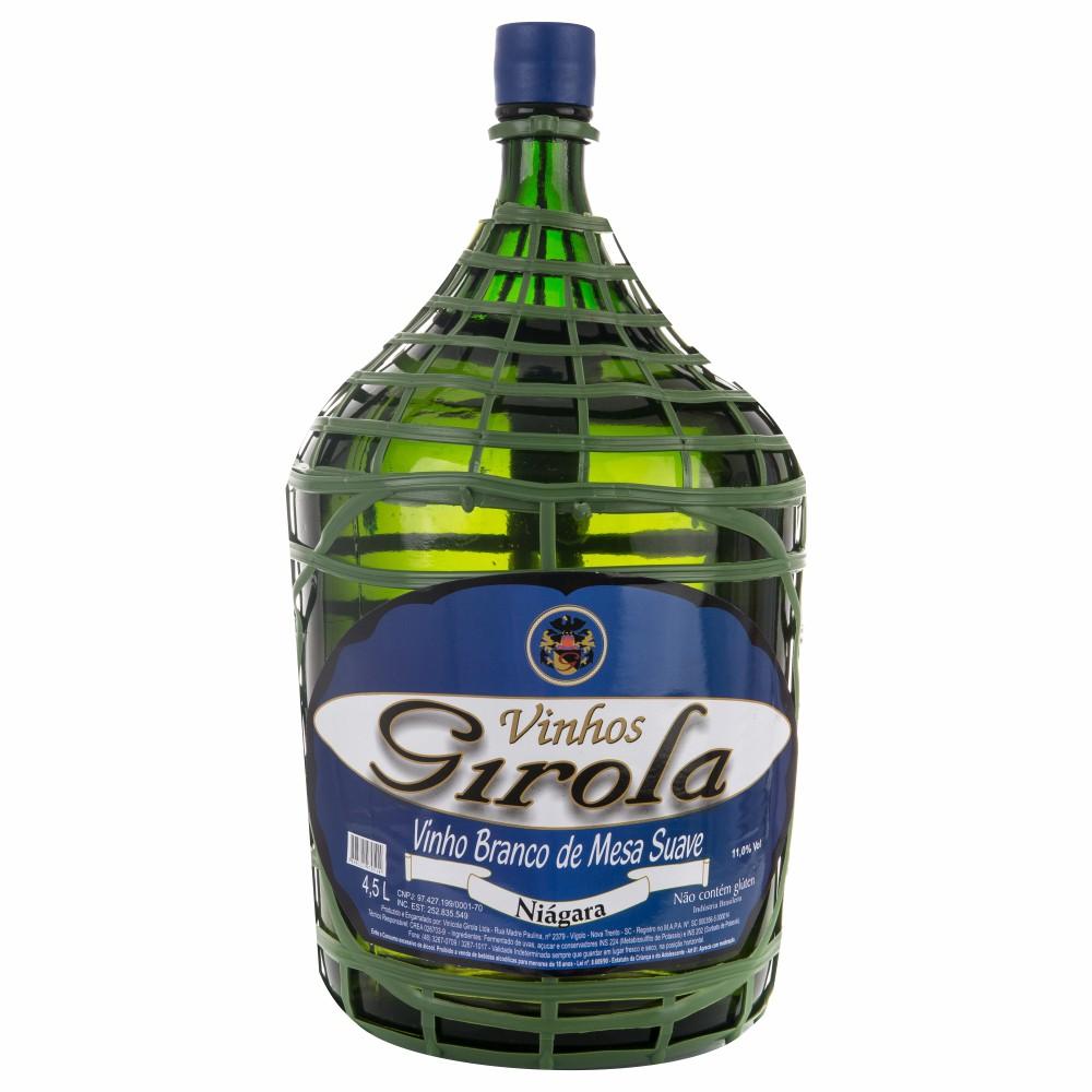 Vinho de Mesa Branco Suave Niágara 4,5l