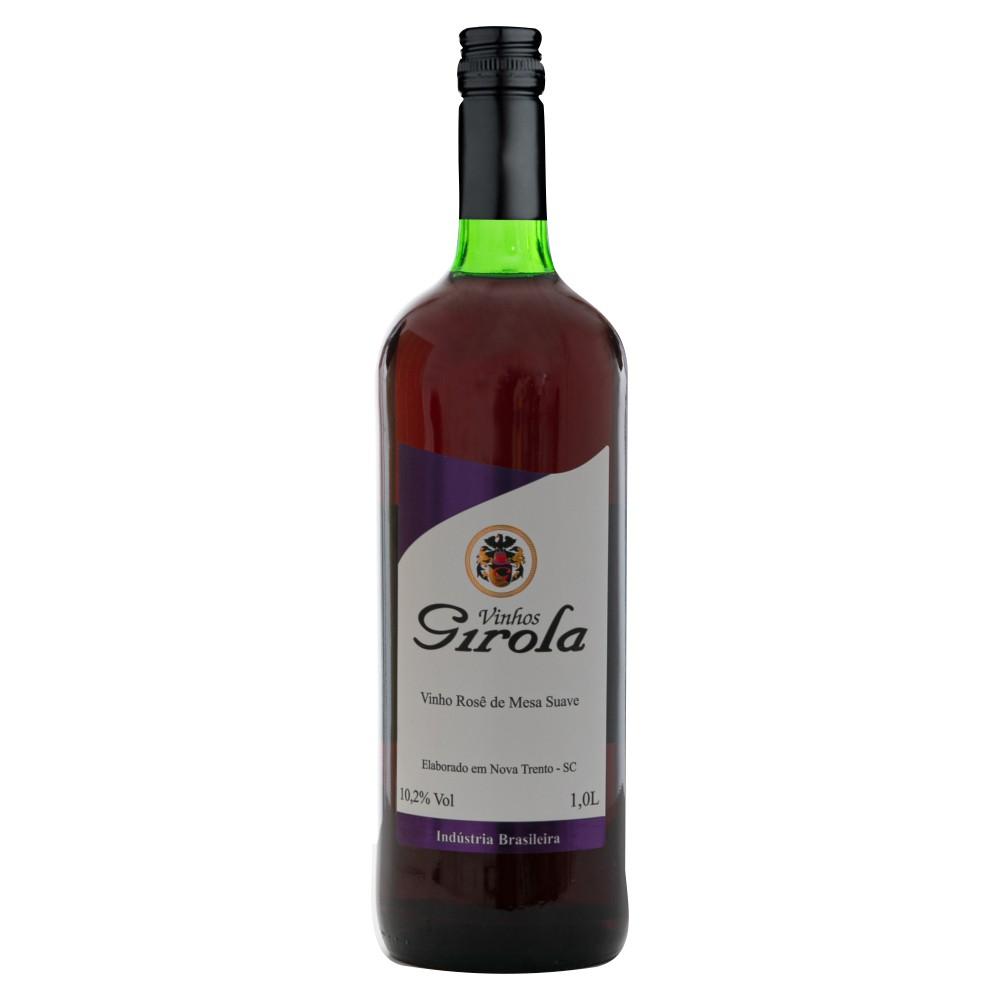 Vinho de Mesa Rosê Suave 1L