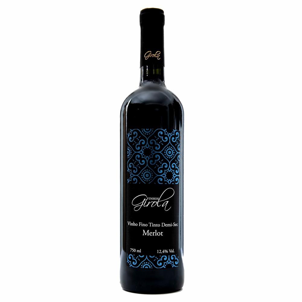 Vinho Fino Merlot Demi-Sec 750ml