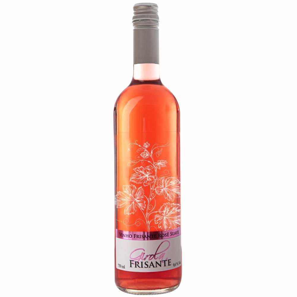 Vinho Frisante Rosé Suave 750ml