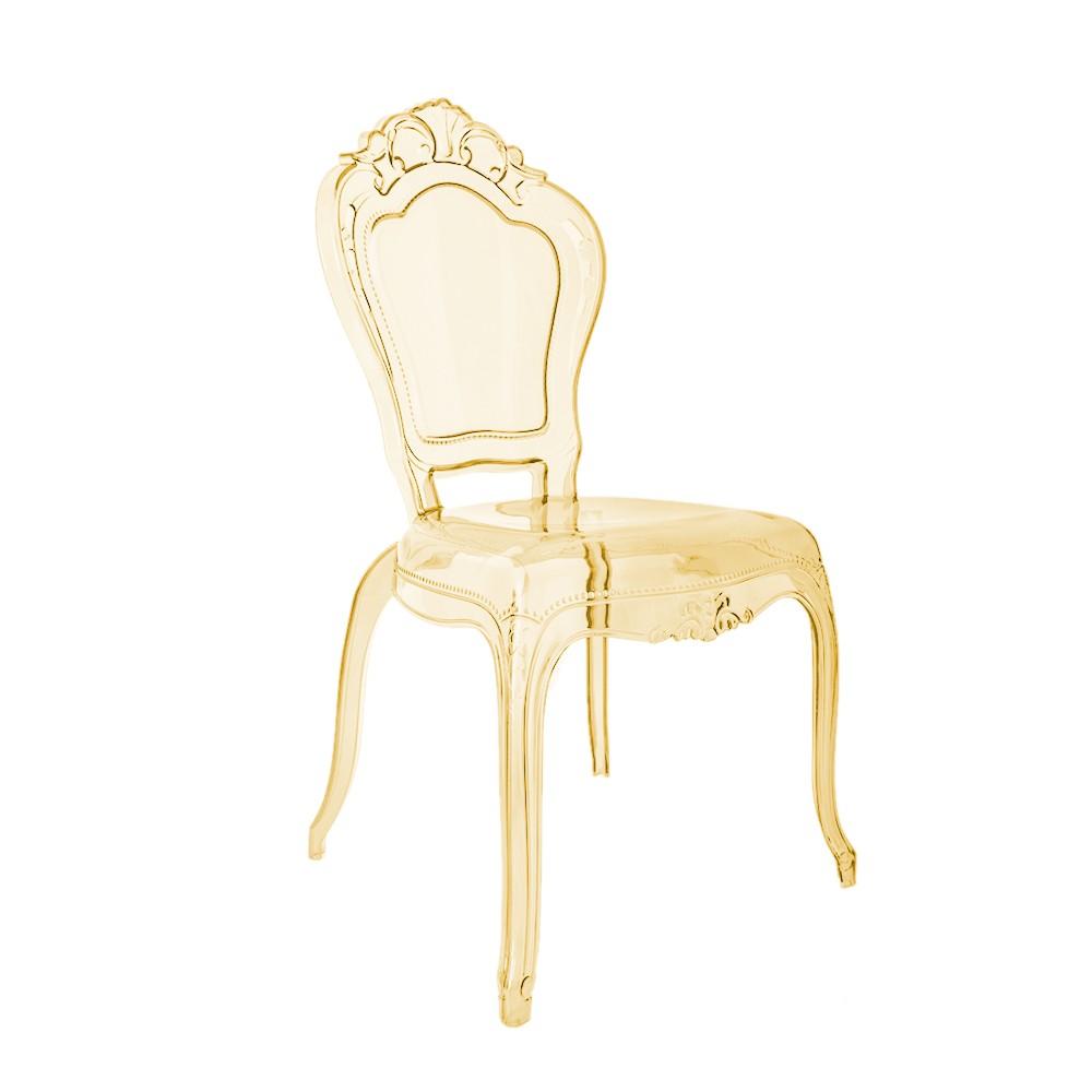 Cadeira Anne Policarbonato Âmbar