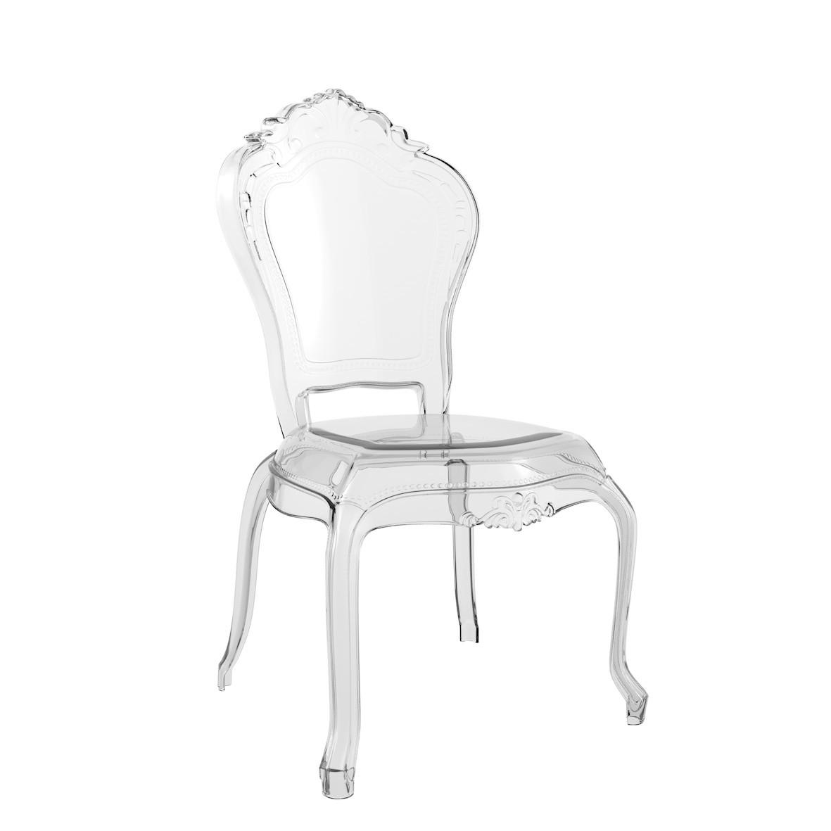 Cadeira Anne Policarbonato Cristal