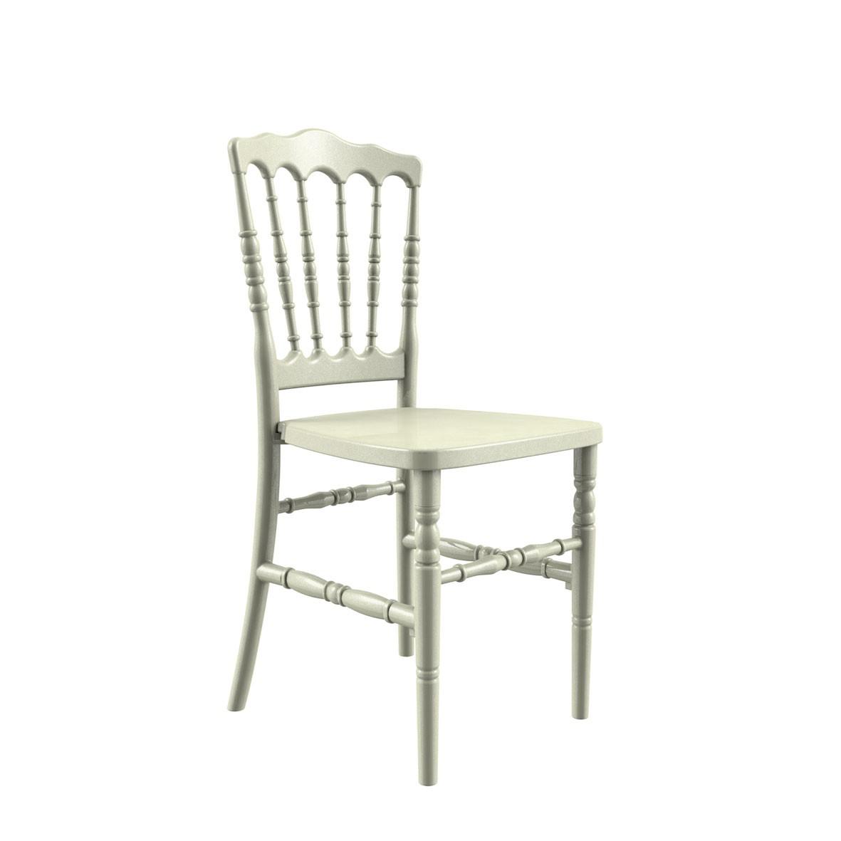 Cadeira Dior Polipropileno Pérola