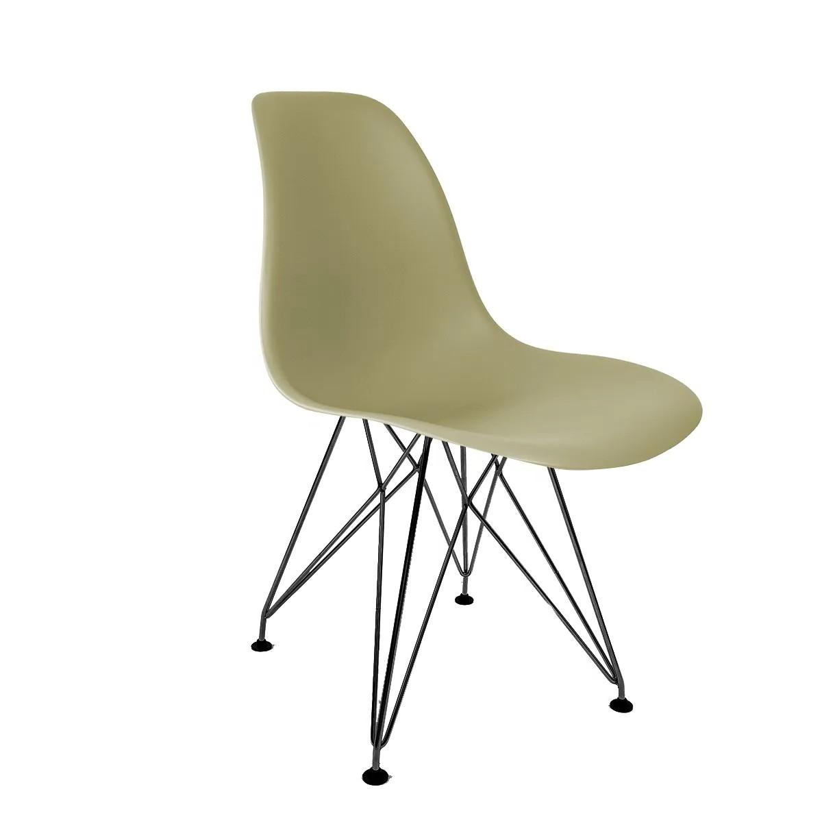 Cadeira Eames Fendi - Base Eiffel Preta