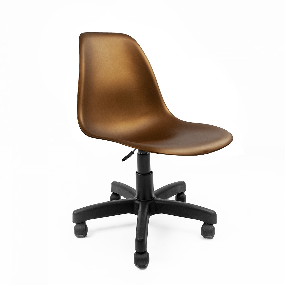 Cadeira Eames Bronze - Base Office Preta
