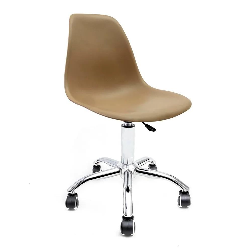 Cadeira Eames Fendi - Base Office Cromada