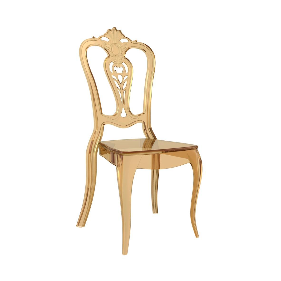 Cadeira Laura Pocarbonato Âmbar