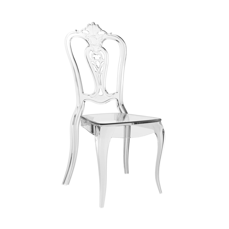 Cadeira Laura Policarbonato Cristal