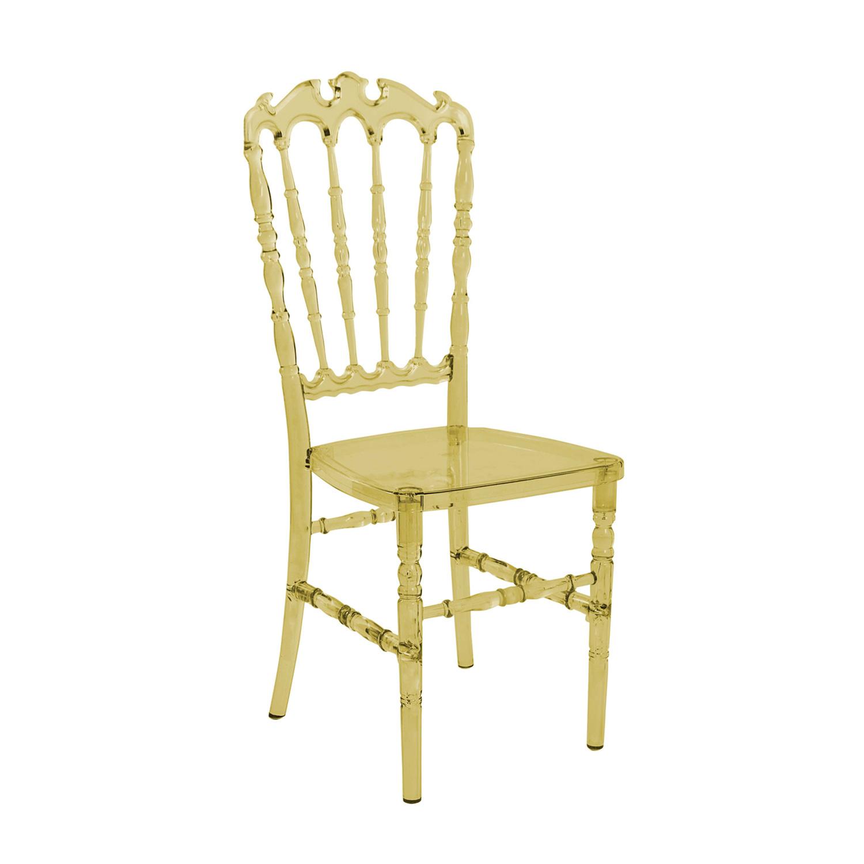 Cadeira Royal Policarbonato Âmbar