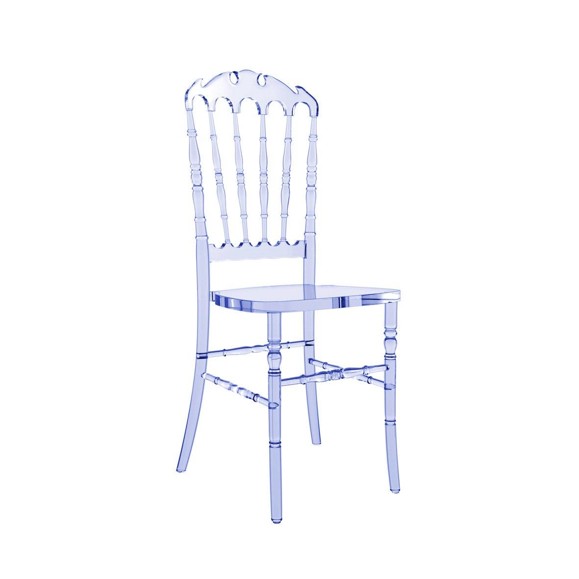 Cadeira Royal Policarbonato Cristal