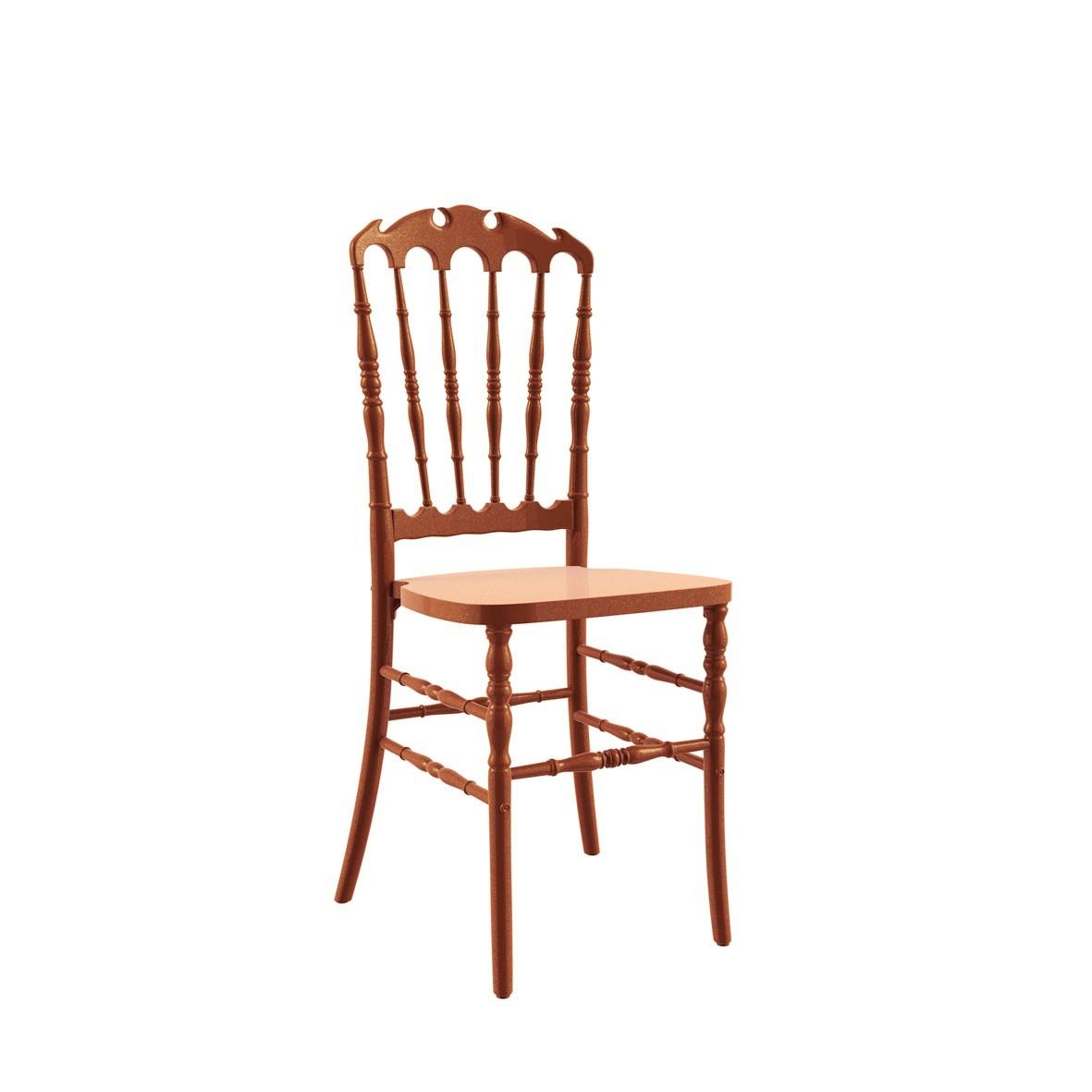Cadeira Royal Polipropileno Bronze