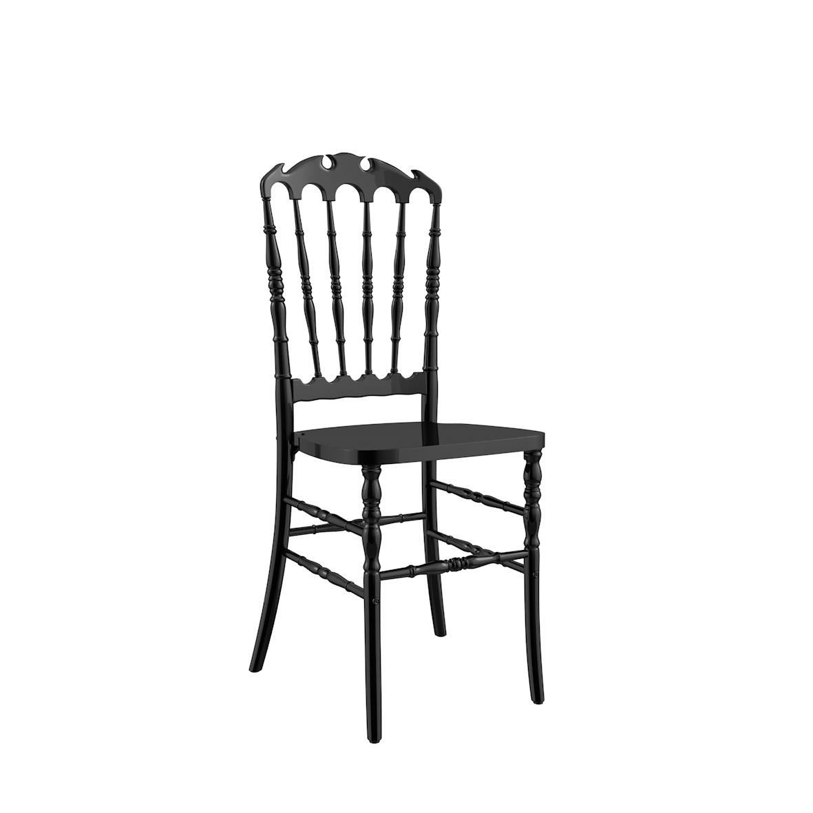 Cadeira Royal Polipropileno Preta