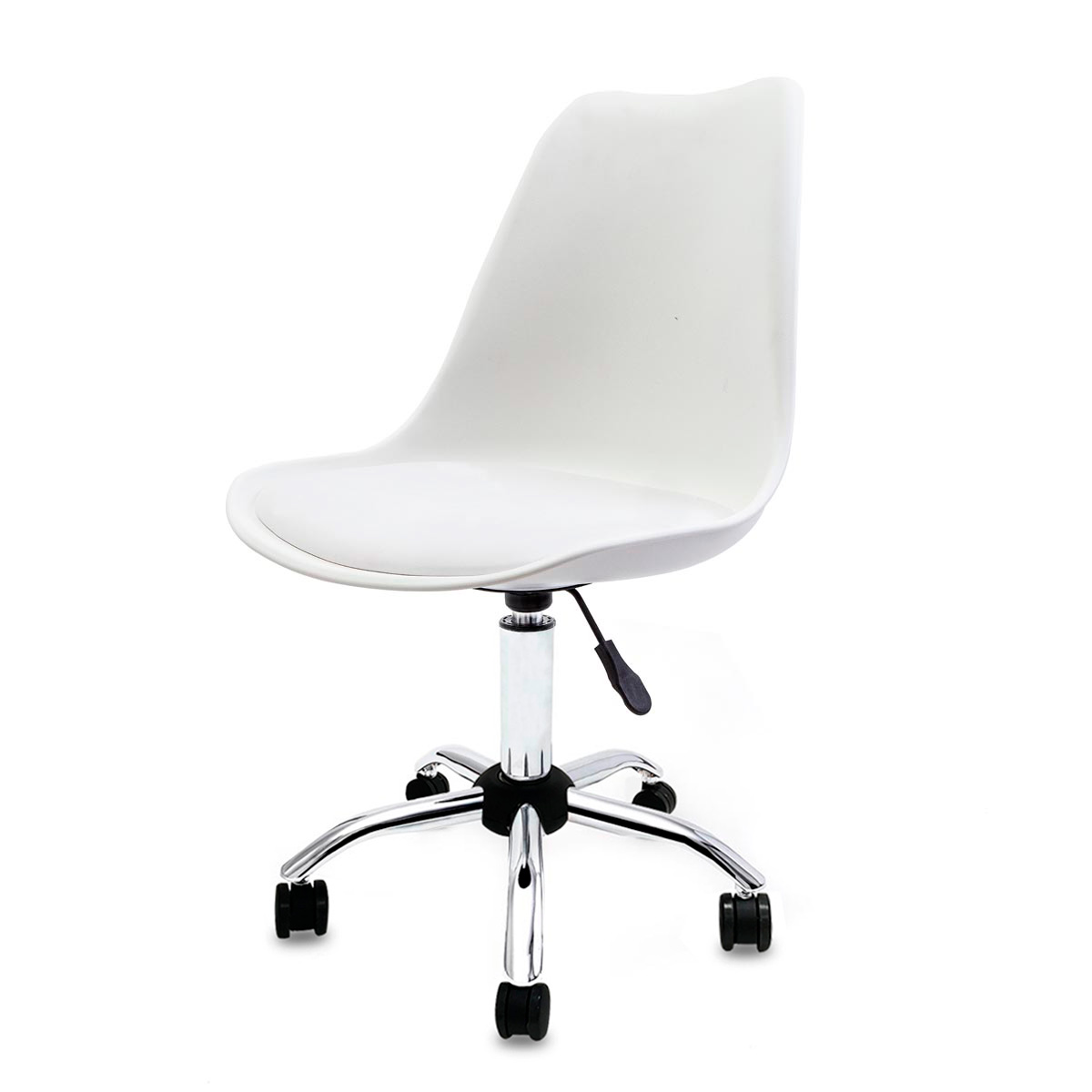 Cadeira Saarinen Branca - Base Office Cromada