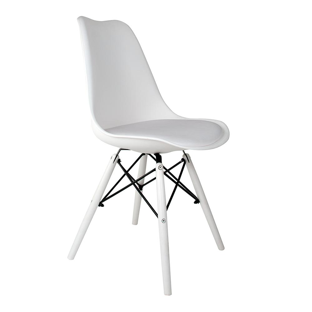 Cadeira Saarinen White Edition - Base Branca Polipropileno