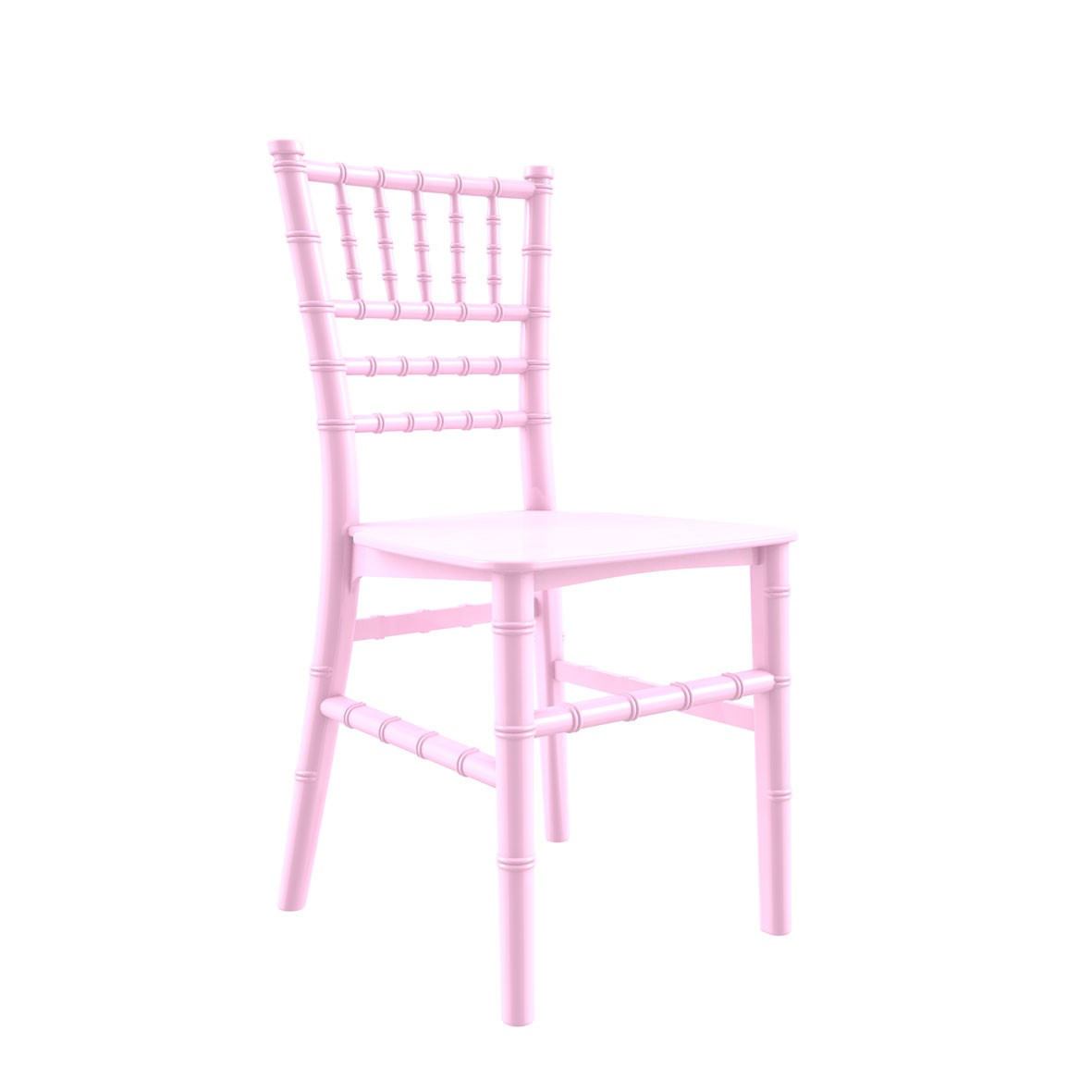 Cadeira Tiffany Infantil Polipropileno Rosa