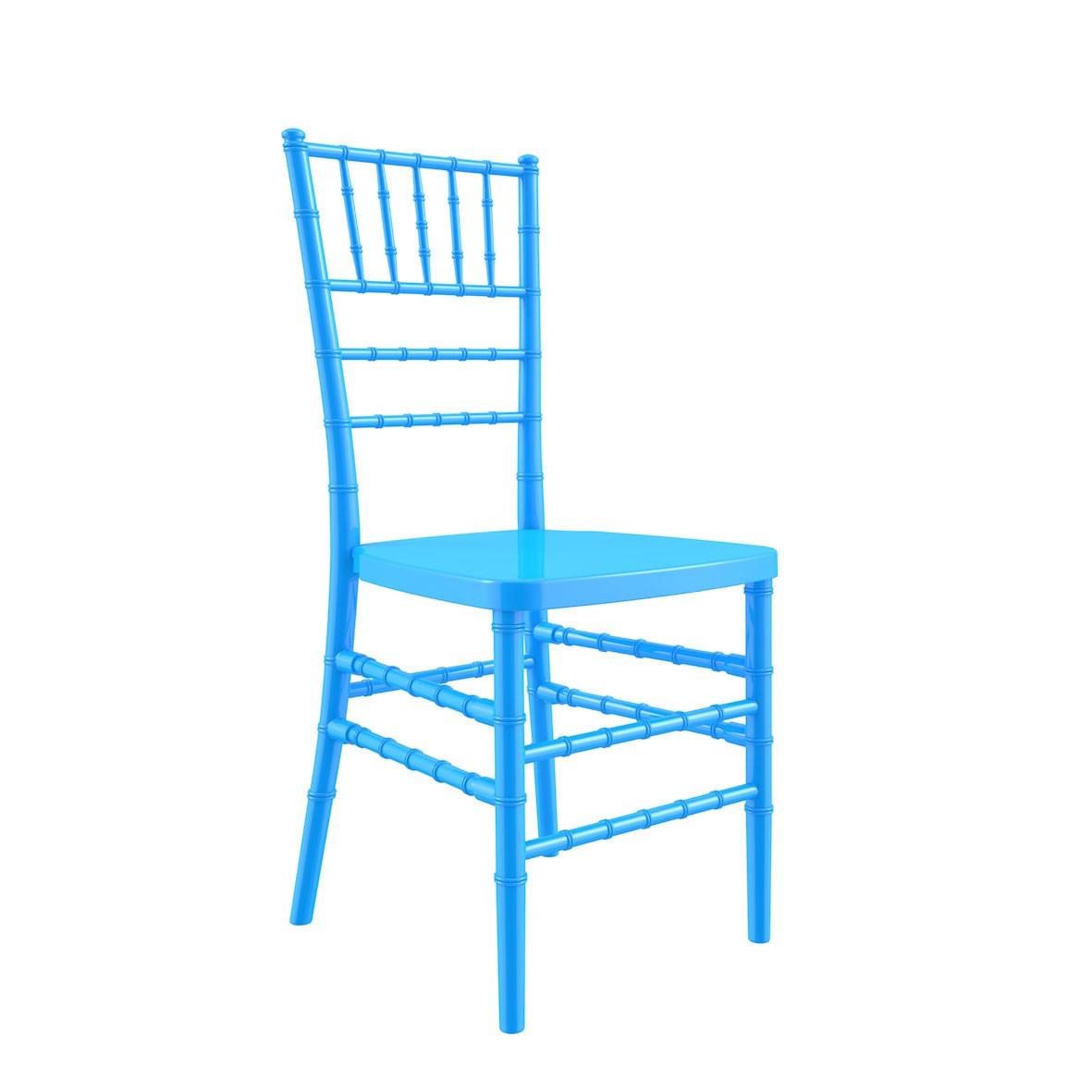 Cadeira Tiffany Polipropileno Azul